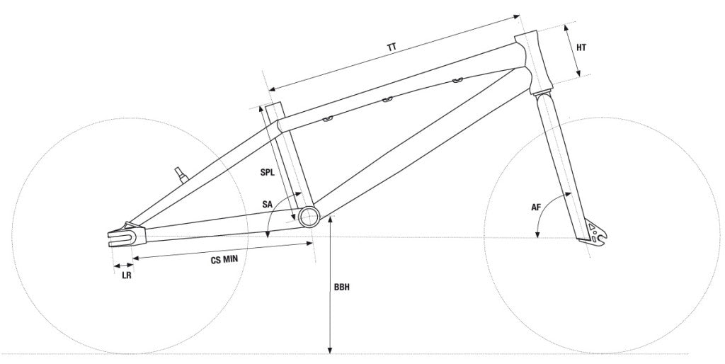 Chase BMX Bike Geometry