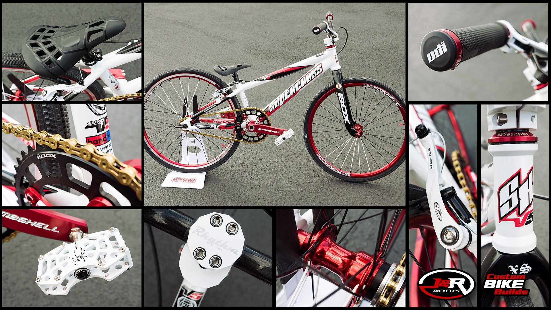 J&R Custom Build: Black, White and Red Supercross