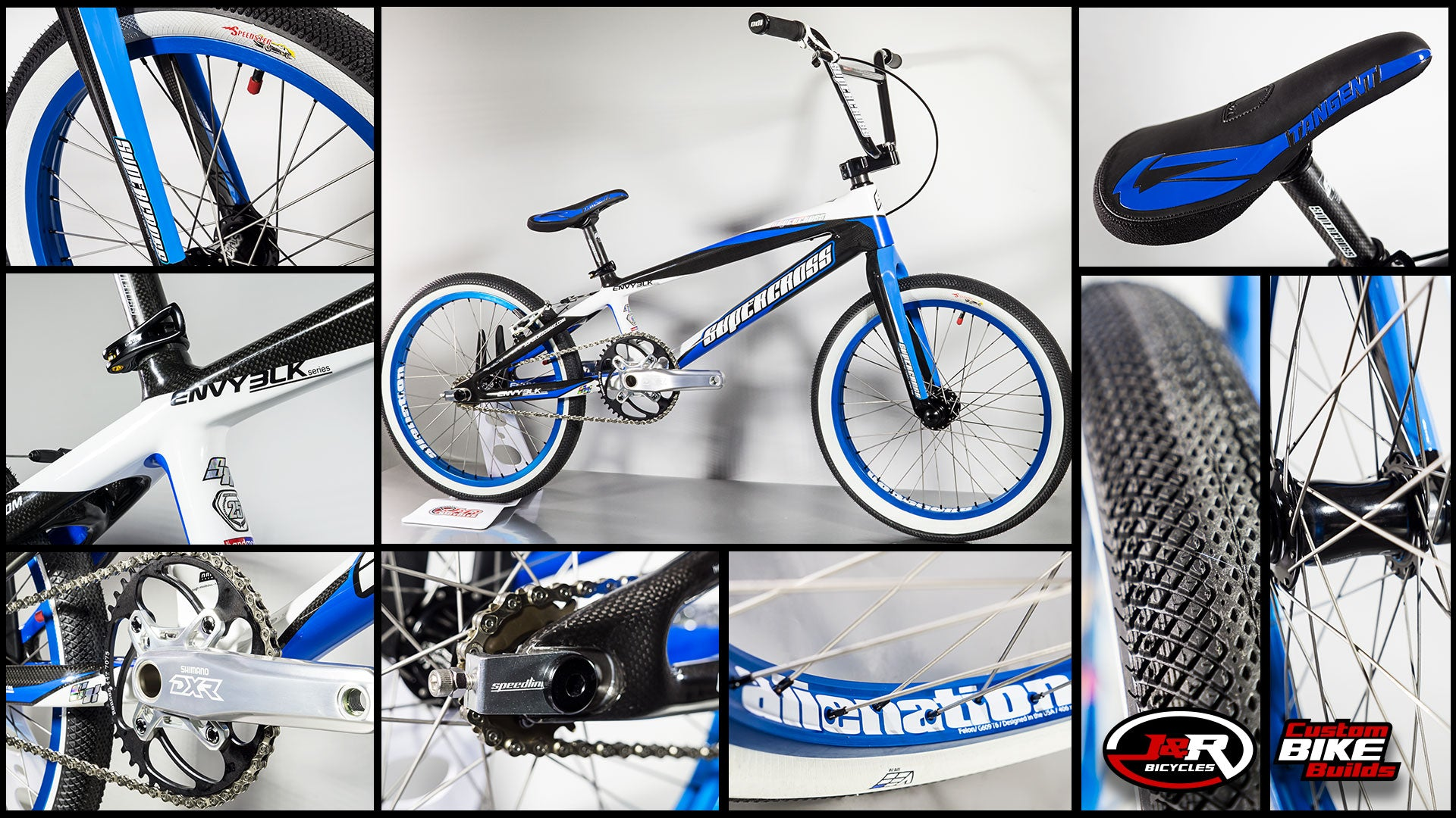 J&R Custom Build: Blue Macdaddy SX Carbon