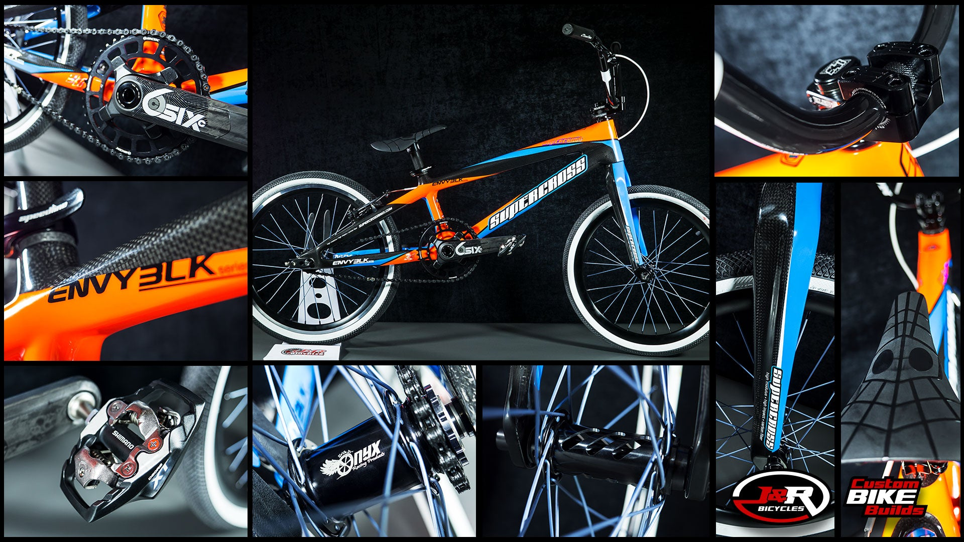 J&R Custom Build: Orange Blue Carbon