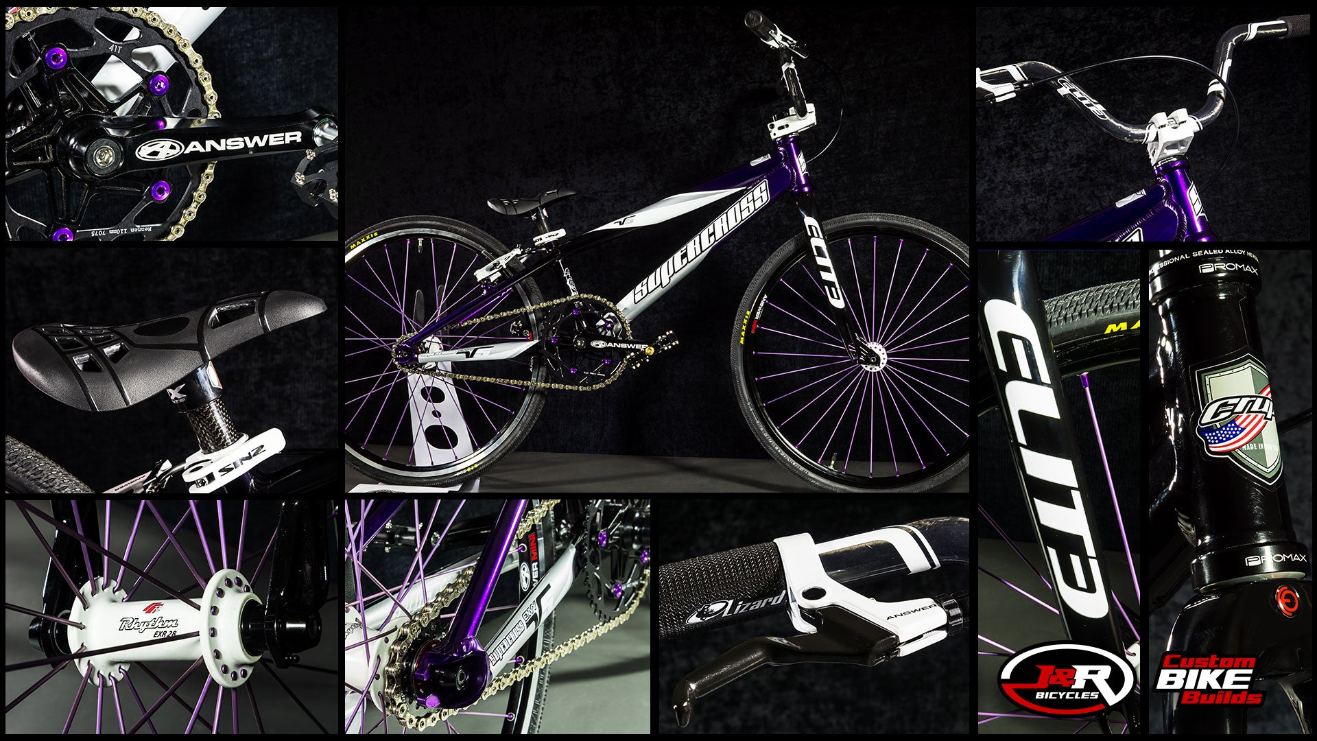 J&R Custom Build: Purple SX Black Crupi