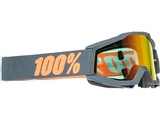 100% Accuri Goggles-Matte Gunmetal  - J&R Bicycles BMX Super Store