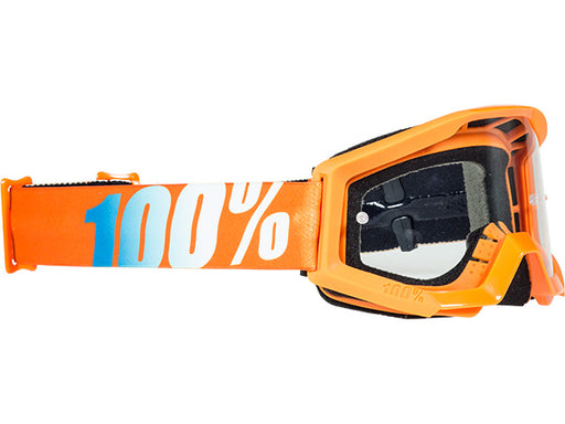 100% Strata Jr Goggles-Orange  - J&R Bicycles BMX Super Store