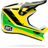 100% Status BMX Race Helmet-DDay Yellow  - J&R Bicycles BMX Super Store