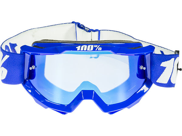 100% Accuri Goggles-Reflex Blue  - J&R Bicycles BMX Super Store