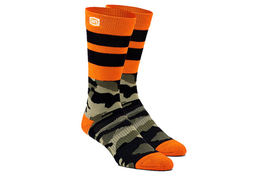100% Athletic Socks-Troop-Camo  - J&R Bicycles BMX Super Store