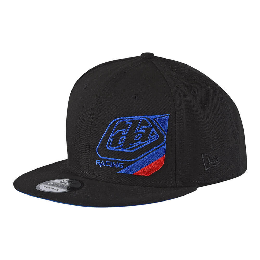 Troy Lee Precision Youth Snapback Hat-Black/Blue