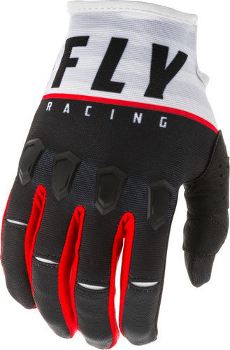Fly Racing 2020 Kinetic K120 Racing Glove-Black/White/Red