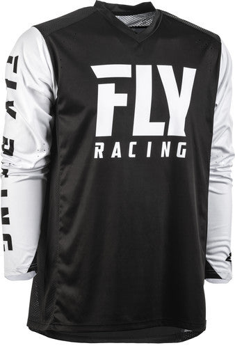 Fly Racing 2020 Radium Jersey-Black/White