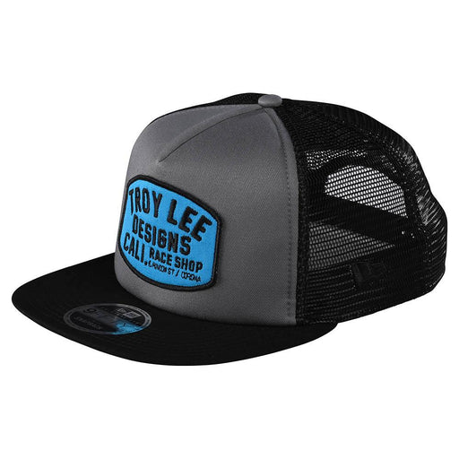 Troy Lee Designs Blockworks Snapback Hat-Graphite/Black