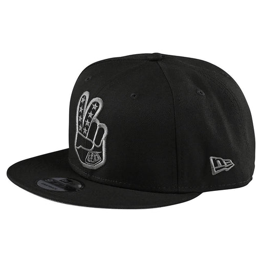 Troy Lee Designs Peace Sign Snapback Hat-Black