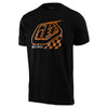 Troy Lee Designs Precision 2.0 Checker T-Shirt-Black