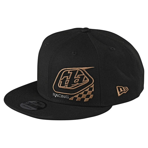 Troy Lee Designs Precision 2.0 Checkers Snapback Hat-Black