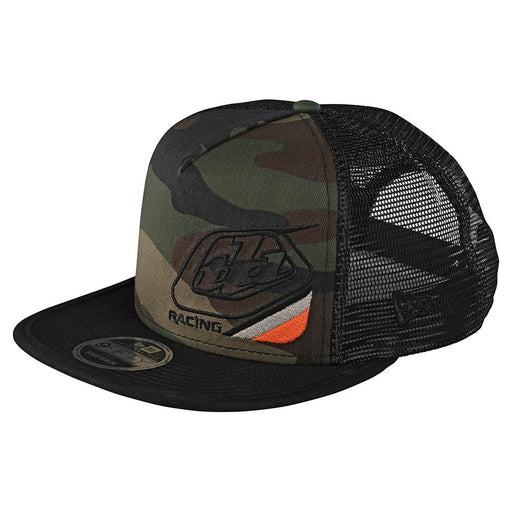 Troy Lee Designs Precision 2.0 Snapback Hat-Green Camo
