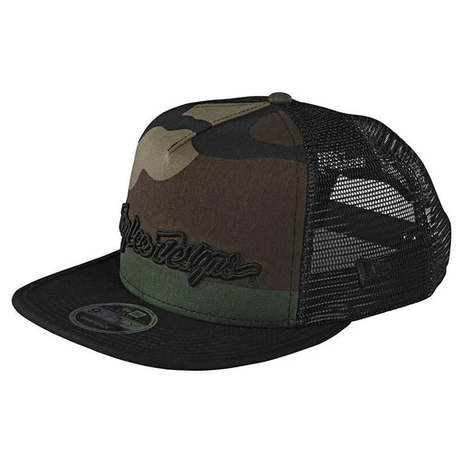 Troy Lee Designs Signature Snapback-Army Camo