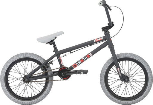 "Haro 2018 Downtown 16"" Bike - Matte Black"