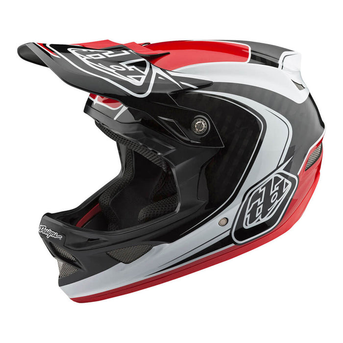 Troy Lee D3 Carbon MIPS Helmet-Mirage-Red