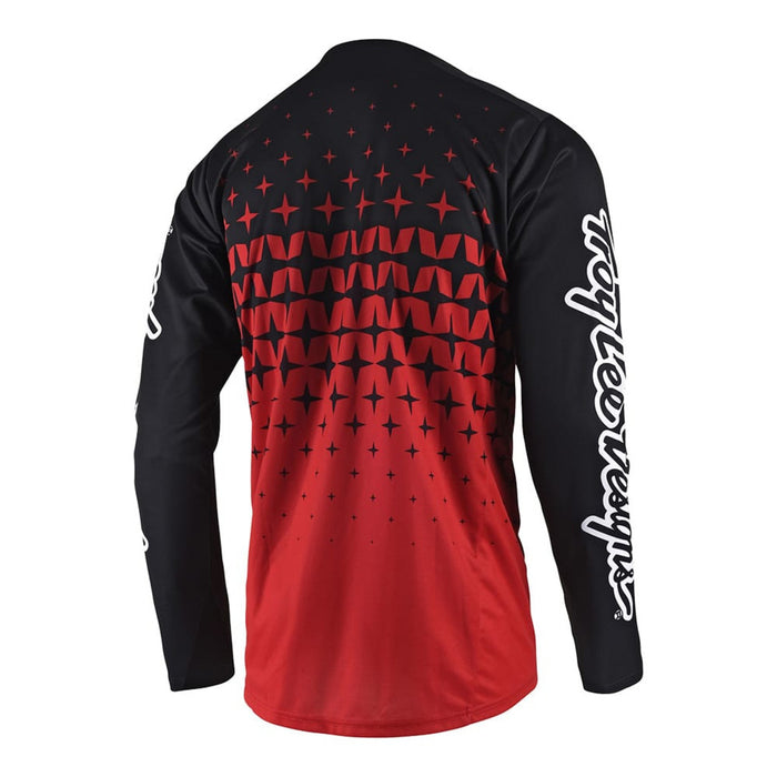 Troy Lee Sprint Jersey - Megaburst Red/ Black