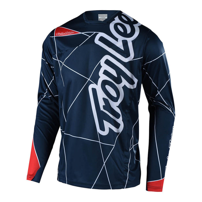 Troy Lee Sprint Jersey - Metric - Navy/Red