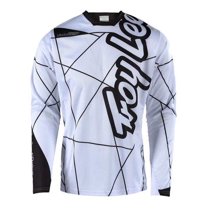 Troy Lee Sprint Jersey - Metric - White/Black