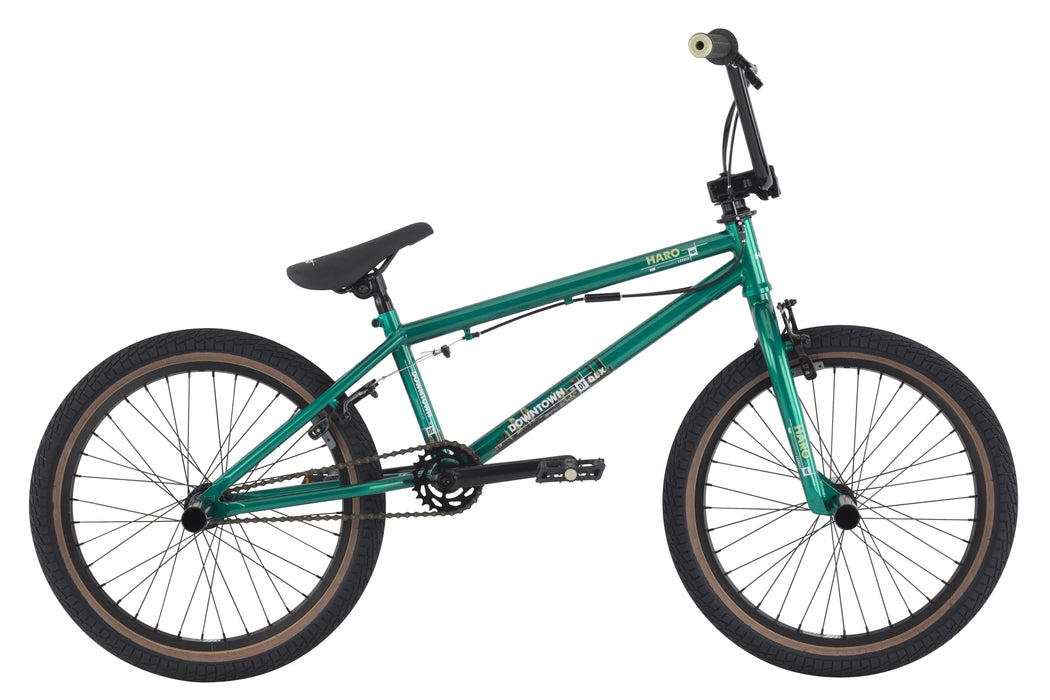 "Haro 2016 Downtown DLX 20.3"" Bike-Metallic Green"