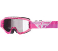 Fly Racing 2018 Zone Composite Goggle Grey/Pink