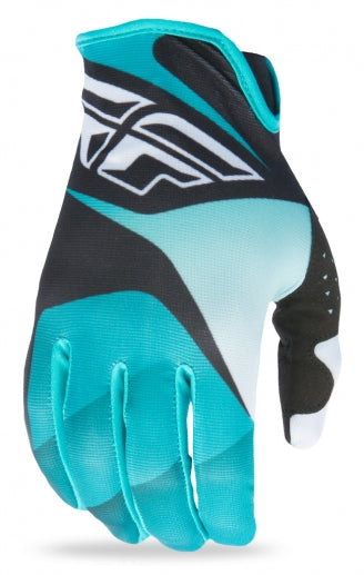 Fly Racing 2017 Lite Glove-Black/White/Teal