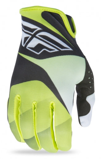 Fly Racing 2017 Lite Glove-Lime/Black/White