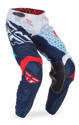 Fly Racing 2016 Kinetic Mesh Trifecta Pants-Red/White/Blue