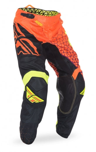 Fly Racing 2016 Kinetic Mesh Trifecta Pants-Fluorescent Orange/Black