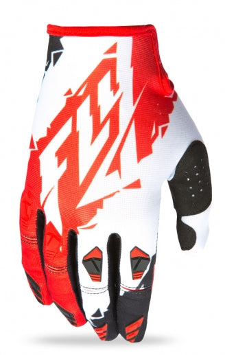 Fly Racing 2017 Kinetic Glove-Red/White