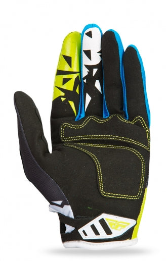Fly Racing 2017 Kinetic Glove-Black/Lime