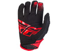 Fly Racing 2018 Kinetic Glove - Red/Black Palm