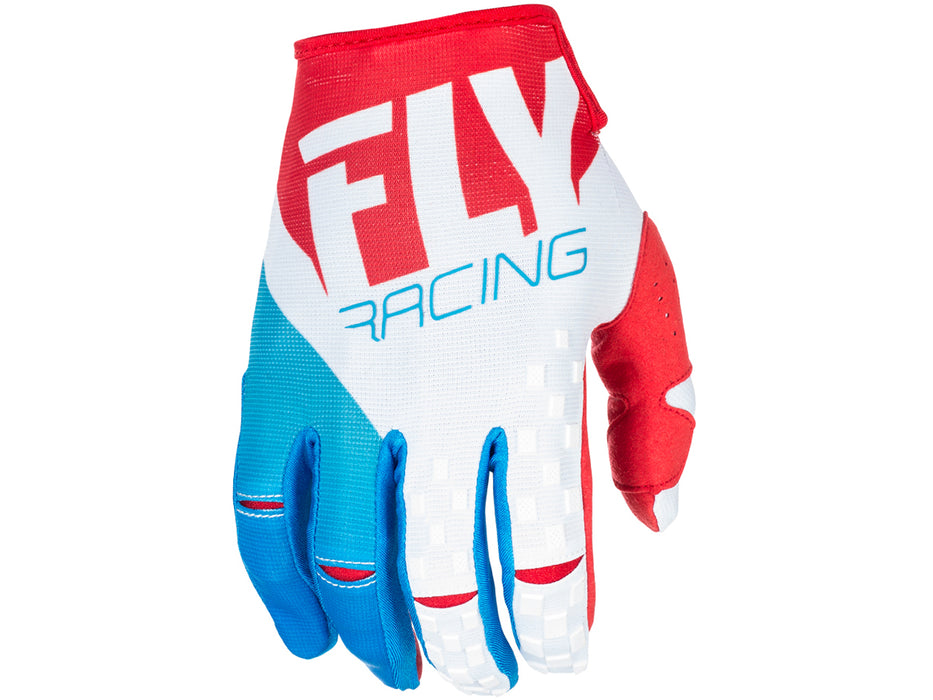 Fly Racing 2018 Kinetic Glove - Red/White/Blue