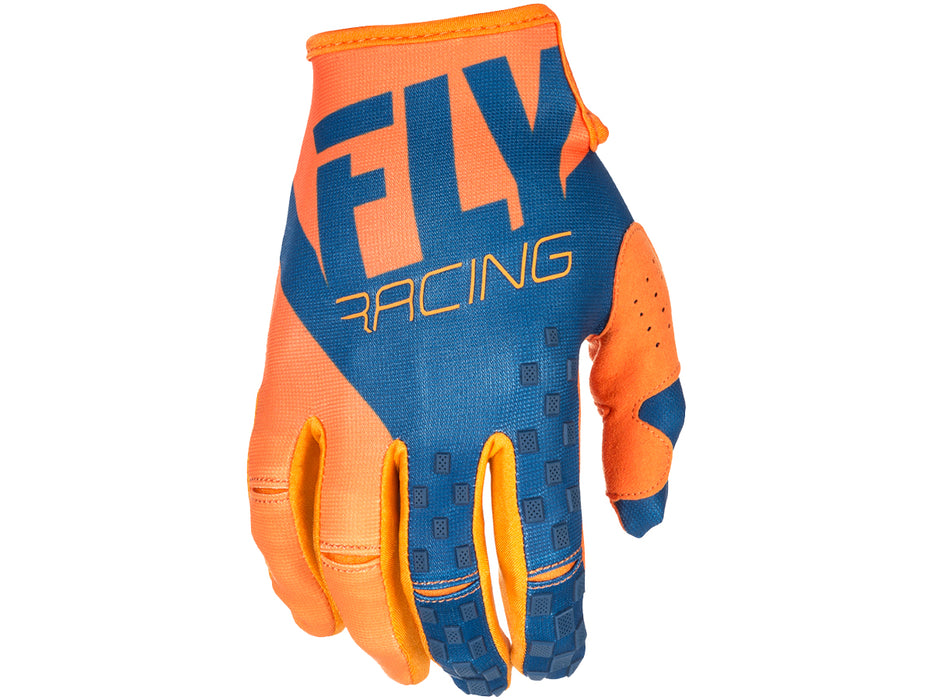 Fly Racing 2018 Kinetic Glove - Orange/Navy