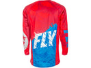 Fly Racing 2018 Kinetic Outlaw Jersey - Red/Blue Back