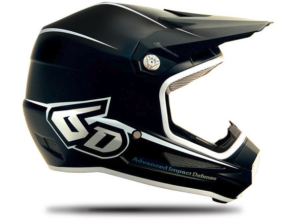 6D ATR-1Y Youth Helmet-Stealth Matte Black