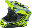 Fly 2018 Default Helmet-Black/Hi-Vis/Teal