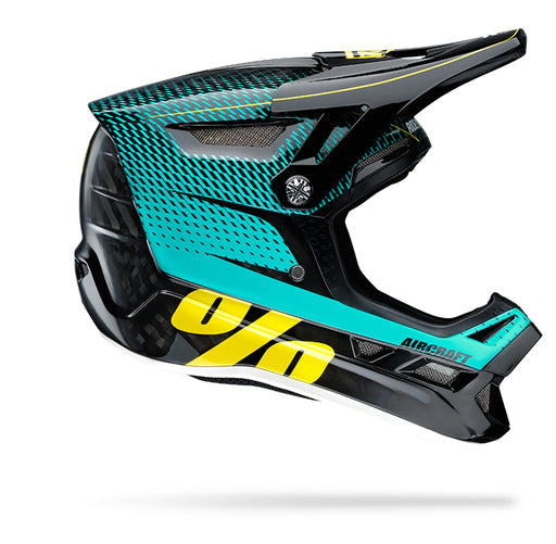 100% Aircraft Downhill Helmet - R-Core Teal  - J&R Bicycles BMX Super Store