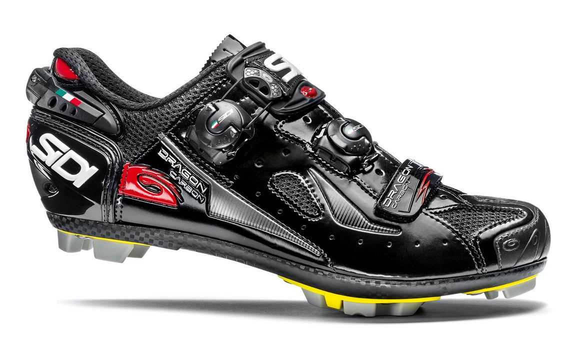 Sidi Dragon 4 Clipless Shoes-Black
