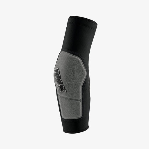 100% Ridecamp Elbow Guard-Black/Grey  - J&R Bicycles BMX Super Store