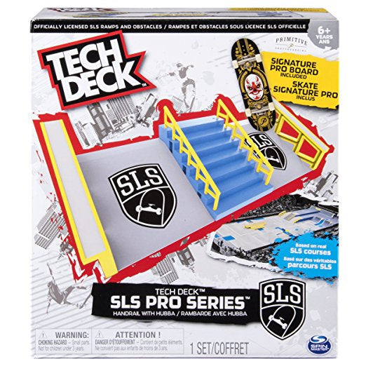 Tech Deck SLS Pro Series Skate Park Handrail With Hubba