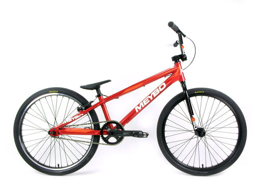 "Meybo 2019 Clipper Pro 24"" BMX Race Bike-Red-White-Orange"