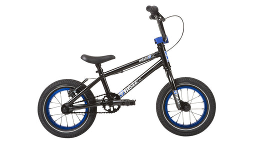"Fit 2020 Misfit 12"" BMX Bike-ED Black/Blue"