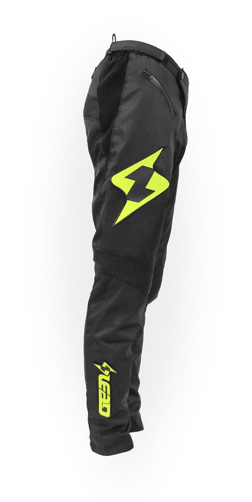 Lead Racing 2019 BMX Coolfit Race Pant-Black/Hi-Vis