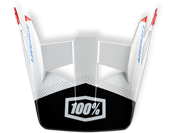 100% Aircraft Replacement Visor Replacement  - J&R Bicycles BMX Super Store