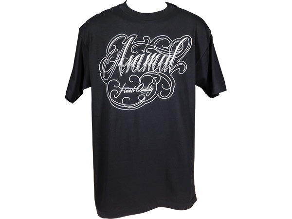 Animal Green Rose Shirt | BLACK/WHITE