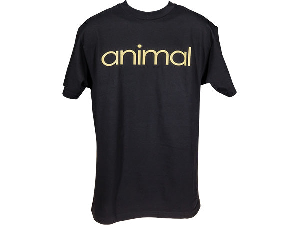 Animal Wordmark Shirt | BLACK