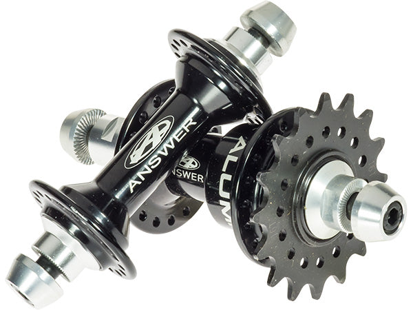 ANSWER Alumilite Ti Pro Cassette Hub Set