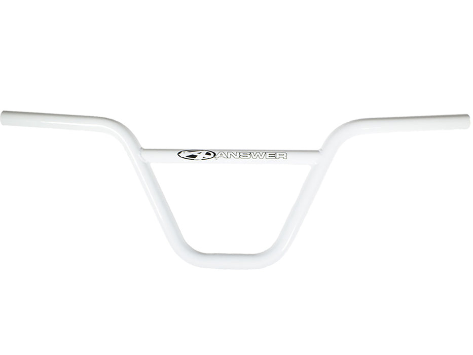 "Answer Pro Chromoly Bar-8.25"" White"